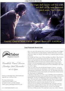 Christmas flyer b&f 2013